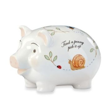 Lenox® Butterfly Meadow® Baby Piggy Bank