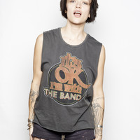 I'm With the Band Muscle Tee - Vintage Black