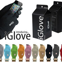 With Retail Box iGlove Touch Screen Gloves For Unisex Warm Winter for Iphone ipad For Capacitive Smart Phones