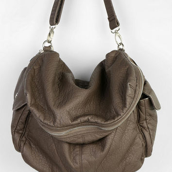 BDG Slouchy Vegan Leather Satchel Bag