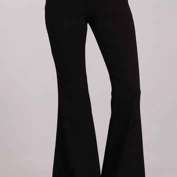 Ponte Flare Bell Bottoms