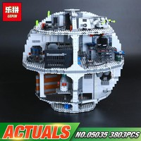 Star Wars Force Episode 1 2 3 4 5 DHL Lepin 05035 3804pcs  Toys  The 10188 Death Toys  Set Building Block Bricks Kids Toys Christmas Birthday Gifts AT_72_6