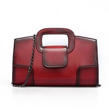 PU Leather Women Messenger Bag