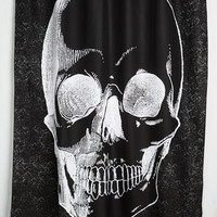 Skulls Sanitary in the Membrane Shower Curtain by ModCloth