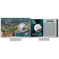 Philadelphia Eagles Silver Coin Card