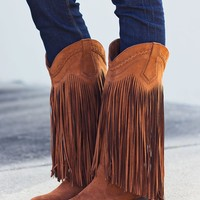Rope Me In Boots $50.00