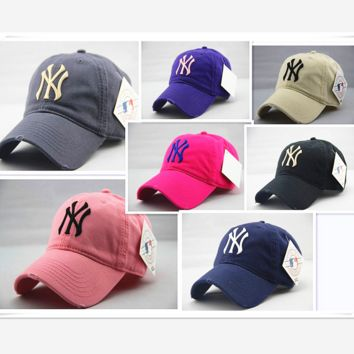 New hat male ladies baseball cap letters casual sun hat