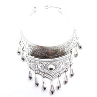 Silver Mountian Tribe Necklace