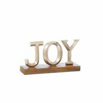 Joy Block Letter Decor
