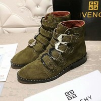 Givenchy Women Fashion Casual Punk Boots Shoes-3