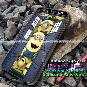 police box iphone case, iphone 4/4S, iphone 5/5S, iphone 5c, samsung s3 i9300, samsung s4 i9500, design accesories