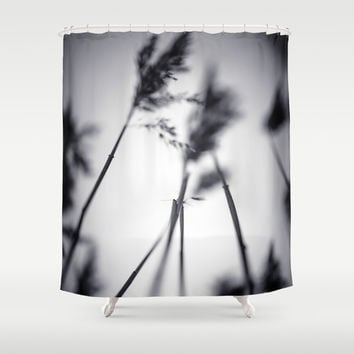 Anticipation Shower Curtain by HappyMelvin