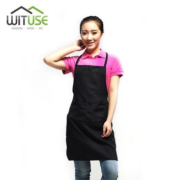 WITUSE Factory Price PVC Dustproof Aprons Adjustable Sleeveless Cooking Work Aprons Kitchen Apron Schort Chef Apron