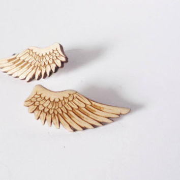 Wing Earrings by Vectorcloud