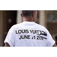 LV Louis Vuitton T-Shirt Top Tee White