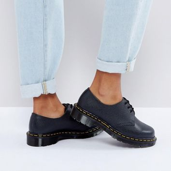 Dr Martens 1461 Premium Leather Lace Up Flat Shoe at asos.com