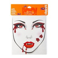 Vampire Face Tattoos  | Claire's