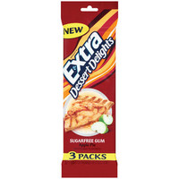 Walmart: Extra Dessert Delights Apple Pie Chewing Gum, 3pk