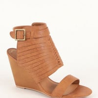 Qupid Gipsy Wedge Sandals at PacSun.com