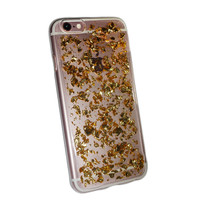 Gold-Flake iPhone Case
