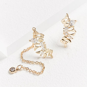 Mara Stone Ear Climber Earring | Urban Outfitters