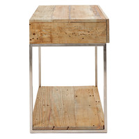 Botero End Table, Natural