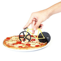 Fixie Bicycle Pizza Cutter | Pizza Slicer Bumblebee