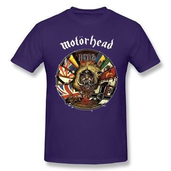 Motorhead 1916 Pop Mens Fashion Short Sleeve Tshirts