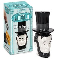 Abraham Lincoln Salt & Pepper Shaker Set