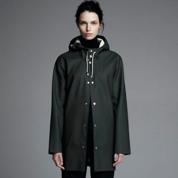 Stockholm Grön - Green Raincoat – Stutterheim Raincoats