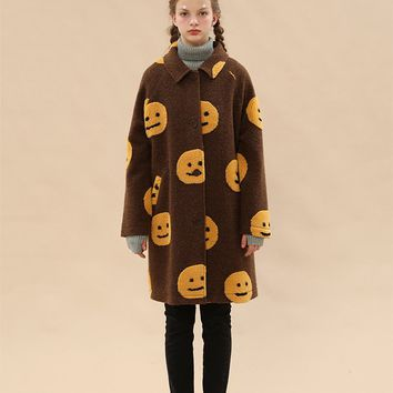 Tyakasha Park Fleece Smiley Jacket