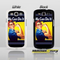 Rosie the Riveter We Can Do It Samsung Galaxy S3 Case