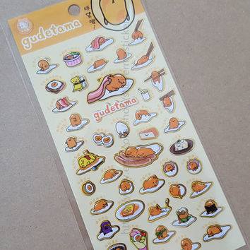 GUDETAMA Stickers #1 - Sanrio Japan
