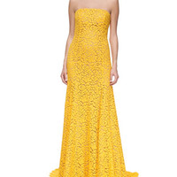 Floral Lace Mermaid Gown, Sun