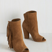 Boho Thanks for the Stride Bootie