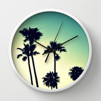 Pacific Coast Hwy Cruisin Wall Clock by RichCaspian