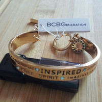 BCBGeneration Gold - Tone INSPIRED Bangle Bracelet