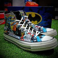 DC Comics x Converse Chuck Taylor 1970s Batman Shoes - Best Online Sale