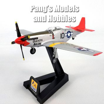P-51D (P-51) Mustang - Red Tails - Tuskegee Airmen 1/72 Scale Assembled and Painted Plastic Model by Easy Model