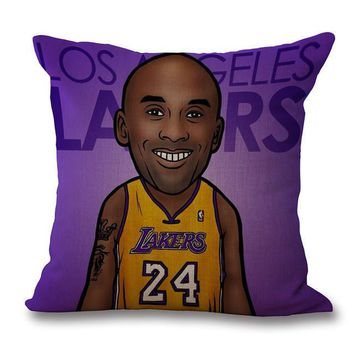nba kobe bryant pillow cases  number 2
