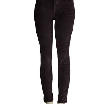 Low Rise Corduroy Skinny Pants