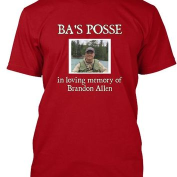 BA'S Posse team shirts for the Heart Run