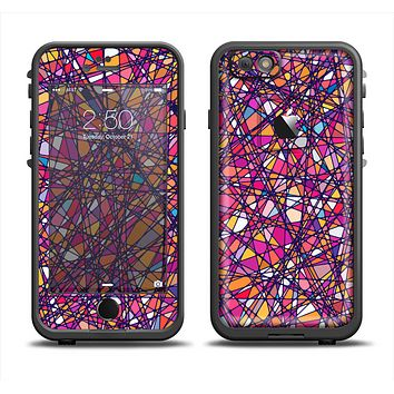 The Shards of Neon Color Apple iPhone 6 LifeProof Fre Case Skin Set