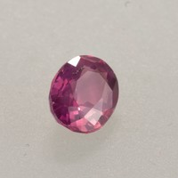 0.996ct Violet Pink Sapphire Oval