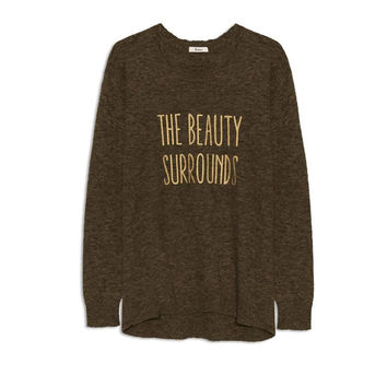 YERSE Beauty Surrounds Sweater