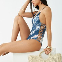 Cloud Wash One-Piece Swimsuit
