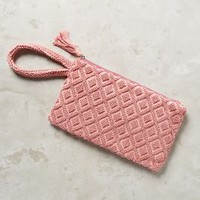 Isota Diamond Day Wristlet in Pink Size: One Size Clutches
