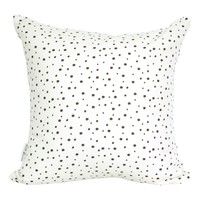 Supermarket: Confetti Pillow Cover, in Jet (Additional Colours Available) from Mod Pieces