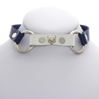 Color Block Kitty Choker