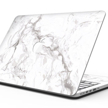 Mixtured Gray 157 Textured Marble - MacBook Pro with Retina Display Full-Coverage Skin Kit